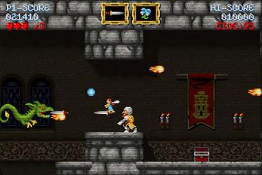 Imaxe da versión do xogo para Xbox One na que simúlase que temos unha vella pantalla de tubo. - FOTO: Abylight Studios