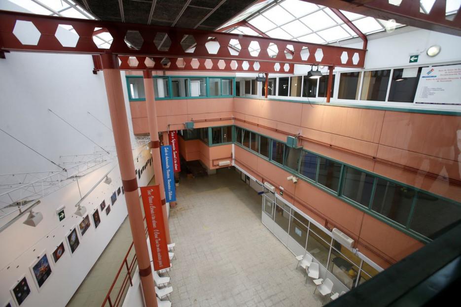 Con 1.600 m2 útiles, Matadoiro Compostela abría sus puertas el pasado verano  - FOTO: Fernando Blanco
