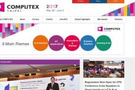 Captura de la web de la Computex Taipei - FOTO: COMPUTEX Taipei 2017
