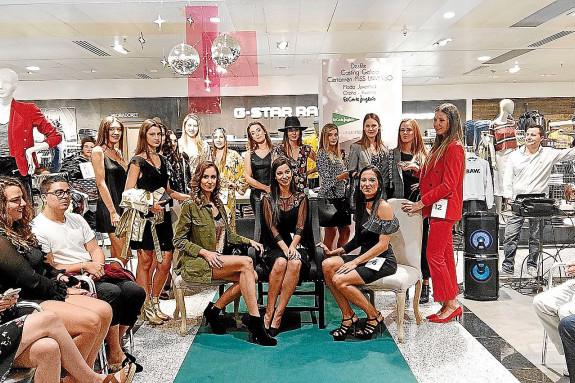 Candidatas a Miss Galicia Universe Spain que participaron esta semana en la final celebrada en El Corte Inglés, donde presentaron las tendencias de moda para la temporada