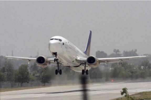 Foto de archivo de un avión de Pakistan International Airlines - FOTO: EFE