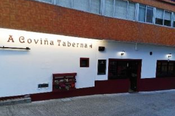 A COVIÑA TABERNA. Rúa Lamalonga, 3 15177 –MERA (Oleiros – A Coruña) Tfno.609 82 83 37