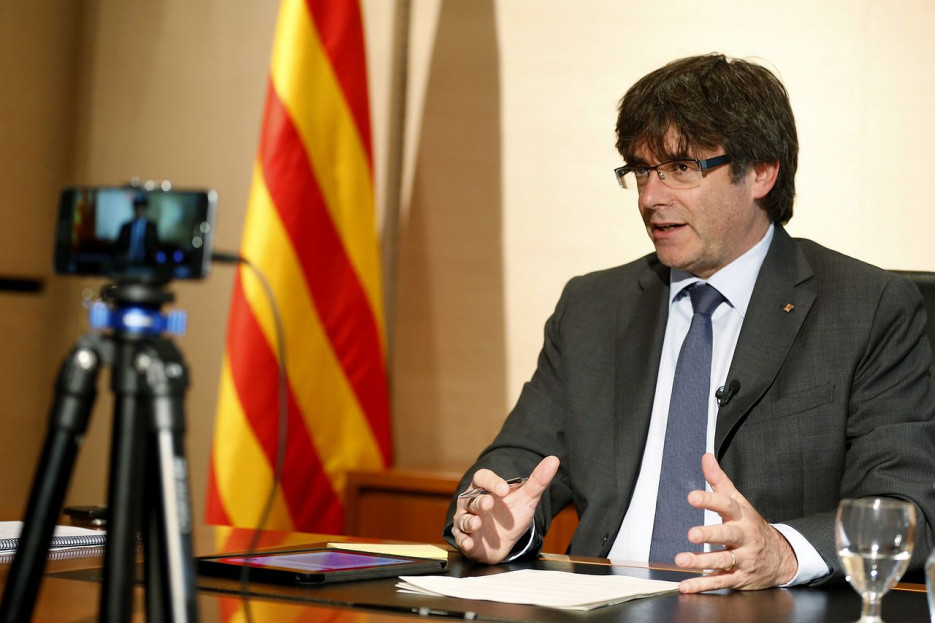 Carles Puigdemont en una foto de archivo - FOTO: Efe