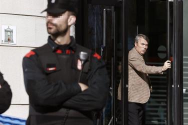 Agustín Martínez, abogado de tres de los jóvenes acusados de la supuesta violación - FOTO: Efe