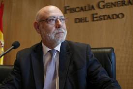 José Manuel Maza, fiscal general del Estado - FOTO: Efe