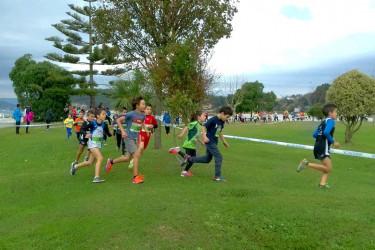 Imagen de las carreras de los más pequeños en la pasada edición - FOTO: Sin-Son