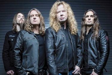 Los componentes de Megadeth, que actuarán en Viveiro, en imagen de archivo - FOTO: G