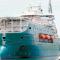 El flotel lleva casi un año anclado en la ría de Ferrol y sin comprador
