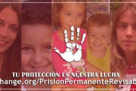 Petición para no derogar la prisión permanente revisable - FOTO: Change.org