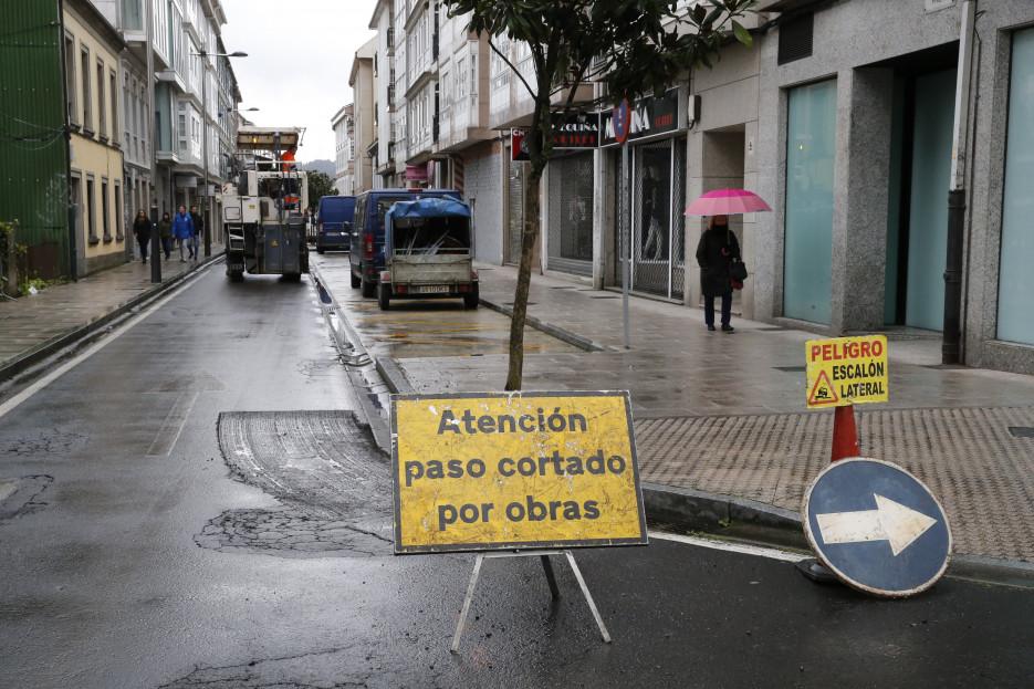 Foto de archivo de una calle del Barrio de Conxo - FOTO: ECG