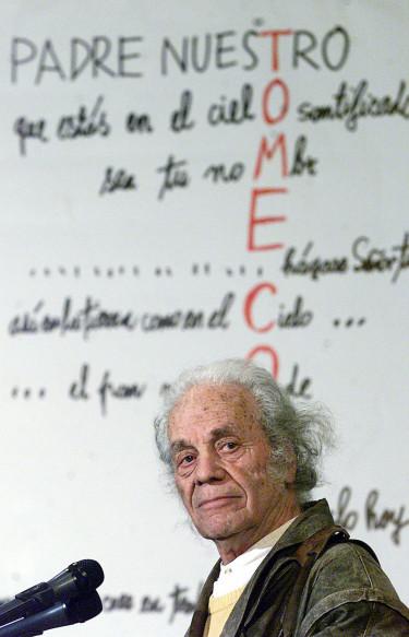 El poeta Nicanor Parra en una foto de archivo - FOTO: Efe