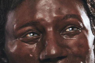Aproximación al modelo de hombre de Cheddar representado por Kennis & Kennis Reconstructions © Tom Barnes/Channel 4