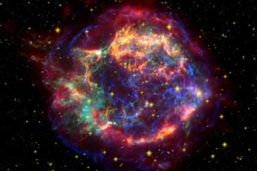 Imagen de una supernova
