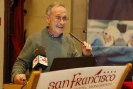 Ángel Carracedo, durante su intervención en el foro organizado por EL CORREO - FOTO: ECG