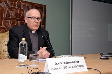 Segundo Pérez, deán de la Catedral  - FOTO: ECG