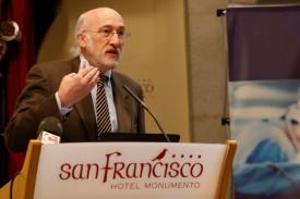 Ramón Cacabelos, catedrático de Medicina Genómica. Fotos: Fernando Blanco - FOTO: ECG