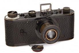 Imagen de la cámara Leica subastada en Viena - FOTO: EFE