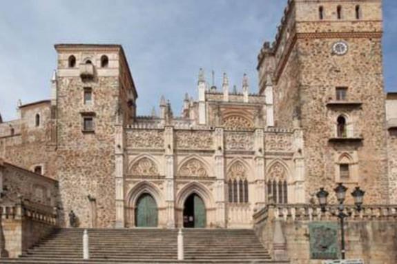 Monasterio de Guadalupe, en Cáceres - FOTO: EFE