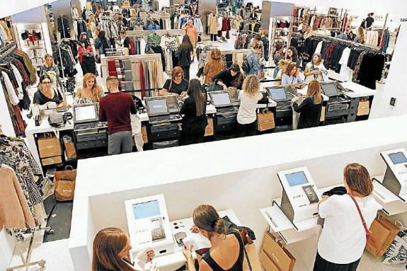 Tienda de Zara en Marineda