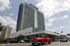 Vista general del hotel Habana Libre  - FOTO: EFE/Ernesto Mastrascusa