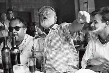 El premio Nobel norteamericano y escritor Ernest Hemingway (1959)