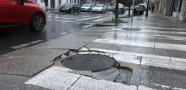 'Fochanca' en un paso de peatones de Santiago