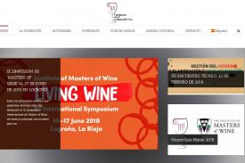 Captura de pantalla del espacio web Cultura del vino - FOTO: www.culturadelvino.org