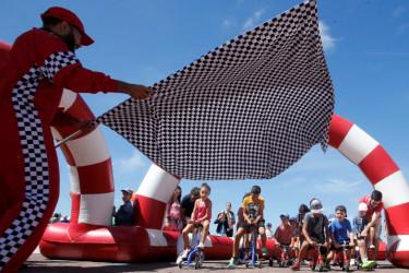 Una imagen de la última edición de la Cidade Imaxinaria, celebrada en agosto. - FOTO: ECG