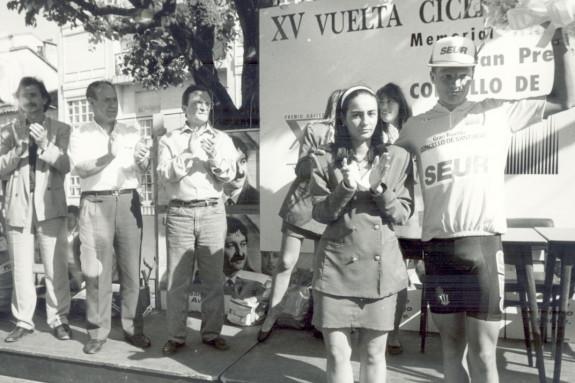 Decimoquinta edición de la Volta da Ascensión, en el año 1991, con Soren Petersen como ganador.  - FOTO: ECG