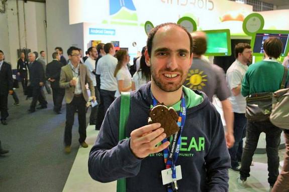Más que Mallando no Android, lo devora Iago Varela, su líder, en un Mobile World Congress
