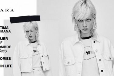 Imagen de captura de la página web de Zara - FOTO: https://www.zara.com/es/