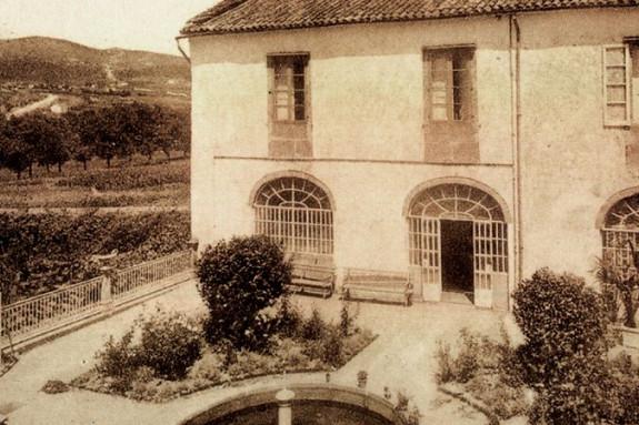 Parte trasera del asilo de Carretas, construido en el siglo XVIII para el cuidado de ancianos y personas discapacitadas