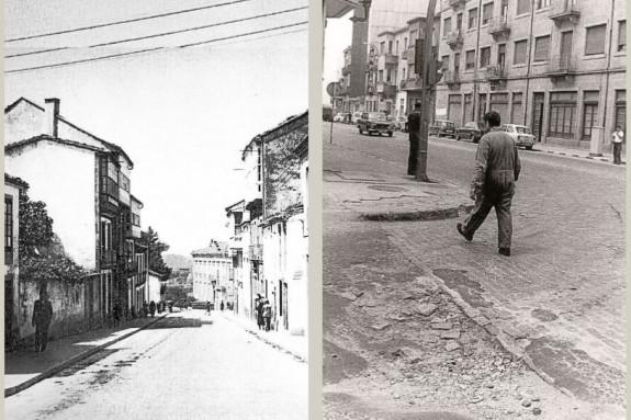 Dos imágenes diferentes de Rosalía de Castro, la 1.ª de principios del S. XX, y la segunda de los 70.  - FOTO: ECG