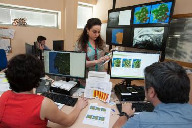 Instalacións de Meteogalicia - FOTO: Xunta