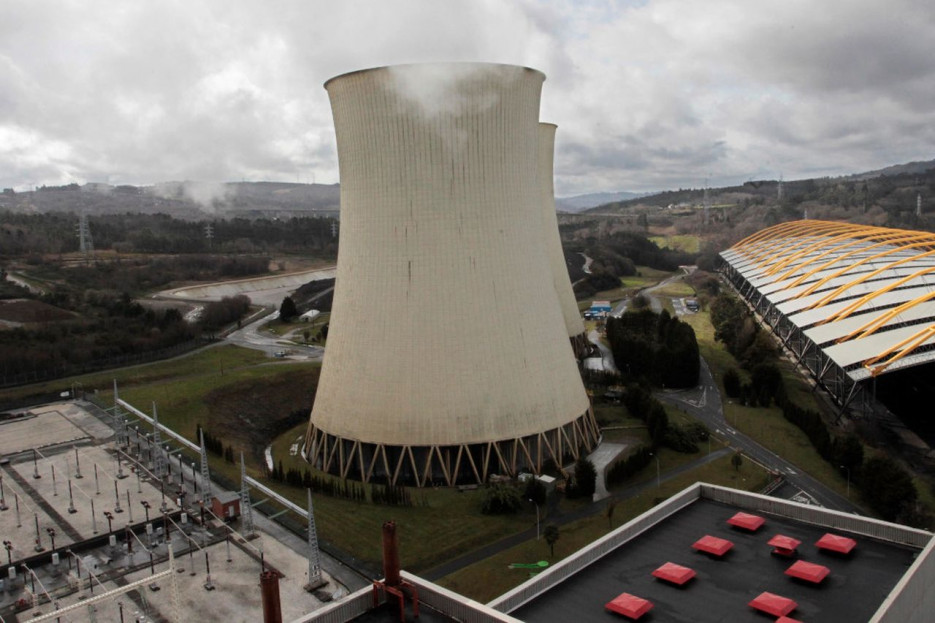 Vista general de las instalaciones de la central térmica de carbón de Endesa en As Pontes - FOTO: Kiko Delgado