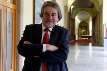 O conselleiro maior do Consello de Contas de Galicia, Redondo López - FOTO: Fernando Blanco