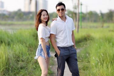 HO CHI MINH (VIETNAM), 23/06/2018.- En la imagen, dos actores de la empresa Vinamost, que ofrece novios y novias falsos para simulacros de bodas en Vietnam - FOTO: EFE