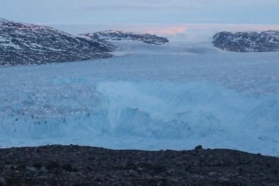 Rotura del glaciar Helheim    - FOTO: Denise Holland