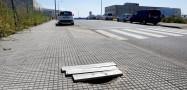 'Trampa' para peatones en Costa Vella