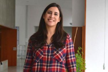 A investigadora do grupo Gies10, Tania García - FOTO: DUVI