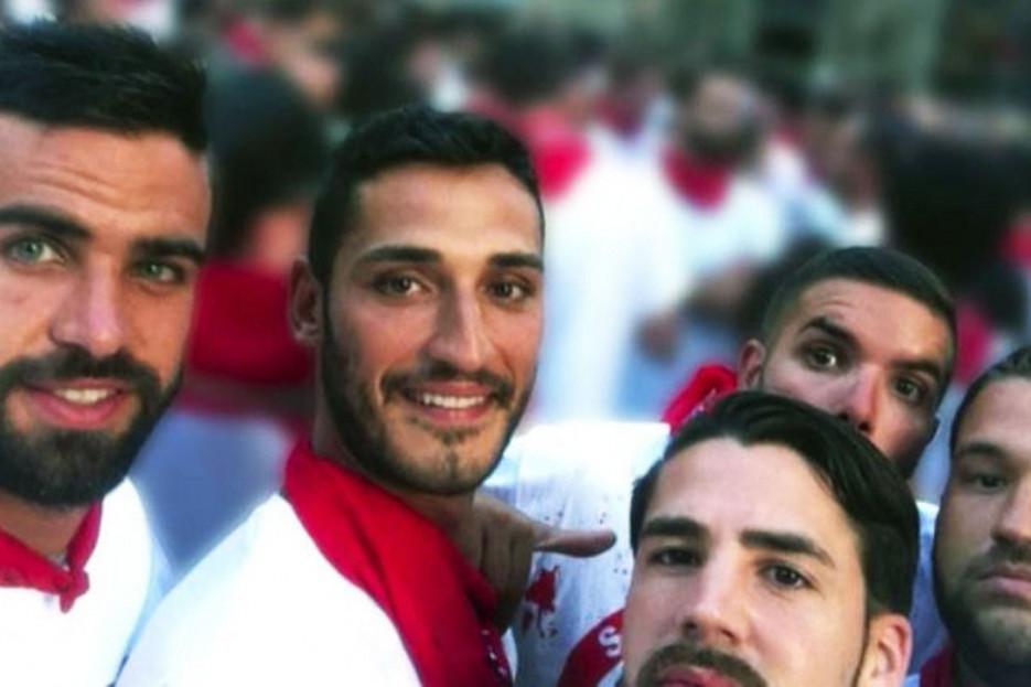 Los cinco miembros de La Manada en una foto de archivo - FOTO: Efe