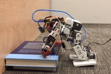 Imagen del robot durante las pruebas - FOTO: Duke University