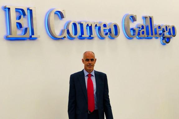 Alberto Cabadas, director de Planta Aguas de Mondariz y Fuente del Val  - FOTO: ECG