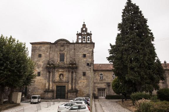 La plaza de la Mercé, en el barrio compostelano de Conxo, será objeto de una reforma integral. - FOTO: Turismo de Galicia