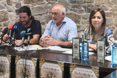 De izqda a dcha. Pablo Llorente y los concejales Manel Deán y María Maneiro - FOTO: J.C.