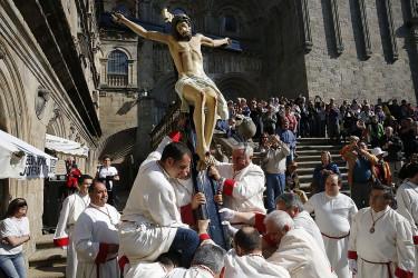 Procesión del Cristo de la Paciencia, Santiago