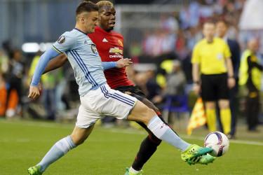 Celta 0 - 1 Manchester United