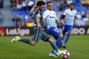 Málaga 3 - 0 Celta