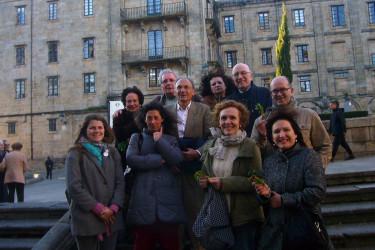 Fiesta de Nuestra Señora de Monteserrat en Compostela