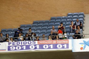 Búsquese en las gradas del partido entre el Obradoiro CAB y el FC Barcelona Lassa